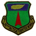 PATCH-USAF, 036TH TACT. FGT (SUBDUED)