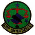 PATCH-USAF, 3700TH CONT. SQ (SUBDUED)