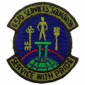 PATCH-USAF, 6570SVC. SQD. (SUBDUED)