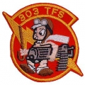 "PATCH-USAF, 303RD TFS (3"")"