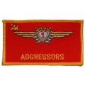 "PATCH-USAF, AGGRESSORS (3"")"