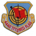 "PATCH-USAF, 4440 TFT GRED (3"")"