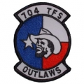 "PATCH-USAF, 704TH TFS (3"")"