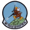 "PATCH-USAF, 186TH FIGHT SQ (3"")"