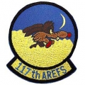 "PATCH-USAF, 117TH AREFS (3"")"