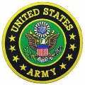 "PATCH-ARMY LOGO (3"")"