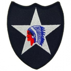 """PATCH-ARMY, 002ND INF DIV (3"""")"""