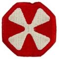 "PATCH-ARMY, 008TH ARMY (3"")"