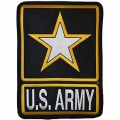 "PATCH-ARMY LOGO U. S. (XLG) (12"")"