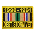 1990-1991 DESERT STORM VET PATCH WITH RIBBON