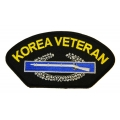 KOREA CIB HAT PATCH- WITH OPTION TO ADD IT TO A HAT