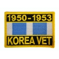 KOREA SERVICE RIBBON PATCH
