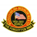 KOREA, THE FORGOTTEN WAR PATCH