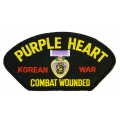 PURPLE HEART KOREA HAT PATCH- WITH THE OPTION TO ADD IT TO A HAT