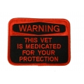 Medicated Vet Patch- WITH THE OPTION TO ADD TO A HAT