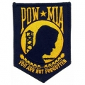 "PATCH-POW*MIA (GOLD) (3-1/2"")"