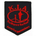 "PATCH-KIA, SHIELD, BLACK (STANDARD) (2-5/8"")"