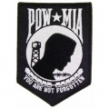 "PATCH-POW*MIA (BLACK) (4-1/4"")"