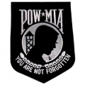 "PATCH-POW*MIA (BLACK) (8"")"