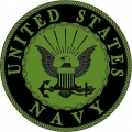 "PATCH-USN LOGO (SUBDUED) (3"")"