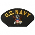 "PATCH-USN, HAT, LOGO (2-3/4""X5-1/4"")- WITH THE OPTION TO HAVE IT ADDED TO A HAT"