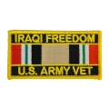 IRAQI FREEDOM ARMY VET PATCH