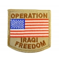 OPERATION IRAQ FREEDOM USA PATCH