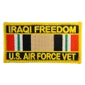 IRAQI FREEDOM AIR FORCE  VET PATCH
