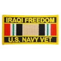IRAQI FREEDOM NAVY VET PATCH