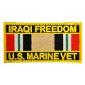 IRAQI FREEDOM MARINE CORPS VET PATCH