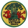 "PATCH-VIETNAM,REP.OF SVC (3"")"