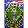 "PATCH-ARMY LOGO, RETIRED (3"")"