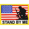 "PATCH-USA, STAND BY ME (3-3/8"")"