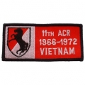 """PATCH-VIET,BDG,ARMY,011TH 1966-1972 (4-1/4"""")"""