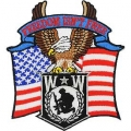 "PATCH-WOUNDED WARRIOR EAGLE (4"")"