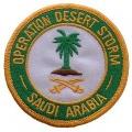 "PATCH-DEST.STORM,SAUDI- ARABIA (3"")"
