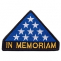"PATCH-MEMORIAL FLAG (4-1/4"")"