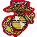 "PATCH-USMC EGA (03) (YLW/WHT) (3-1/4"")"