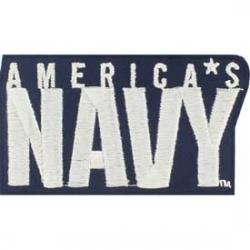 "PATCH-USN AMERICA'S NAVY (3"")"