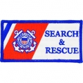 "PATCH-USCG, SEARCH & RESC. (3-3/4"")"