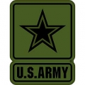 "PATCH-ARMY LOGO U. S. (SUBDUED) (3-1/2"")"