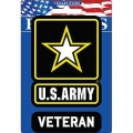 "PATCH-ARMY LOGO, VETERAN (3-3/4"")"