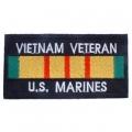 """PATCH-VIET,BDG,USMC VET (4""""X2-1/8"""")"""