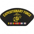 "PATCH-USMC,HAT,EXPEDITION (3""X5-1/4"") - WITH THE OPTION TO HAVE IT ADDED TO A HAT"