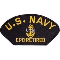 PATCH-USN, CPO, RETIRED