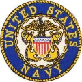 "PATCH-USN LOGO (03A) (Anchors) (3"")"