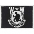 "PATCH-WOUNDED WARRIOR FLAG (3-1/2"")"