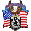 "PATCH-WOUNDED WARRIOR EAGLE (12"")"