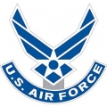 "PATCH-USAF SYMBOL II (12) (12"")"