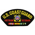 COAST GUARD VIETNAM VETERAN PATCH- WITH THE OPTION TO ADD TO A HAT